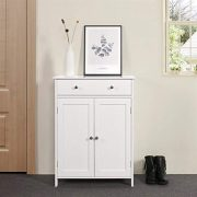 Yaheetech Free Standing Bathroom Cabinet Storage Cabinet