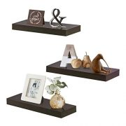 INART Floating Shelves for Wall, Easy to Install, Set of 3