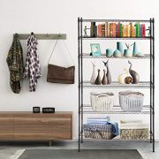 6 Shelf Wire Shelving Unit Heavy Duty Metal Storage Shelves
