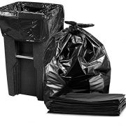 95-100 Gallon Large Trash Bags, Super Value Pack, (Black)