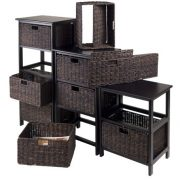 Winsome Omaha Storage/Organization, 3 Baskets