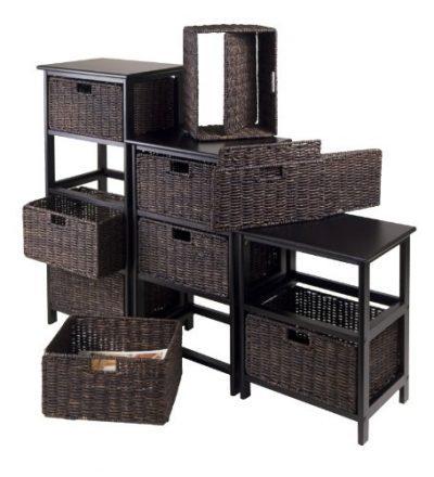 Winsome Omaha Storage/Organization, 3 Baskets
