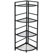 Flipshelf-Folding Metal Shelf-Small Space Solution-No Assembly-Home