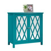"Sauder Harbor View Accent Storage Cabinet, L: 31.50"" x W: 15.75"" x H: 31.50"""