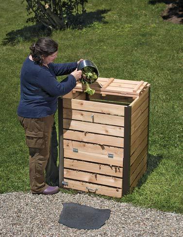 Gardener's Supply Company Cedar Compost Bin