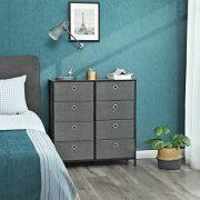 SONGMICS 4-Tier Wide Drawer Dresser, Storage Unit