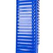 20 Pack of Bins - Blue Stackable Recycling Bin Container