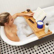 Bathtub Tray/Bathroom Caddy - Bath Table Accessories
