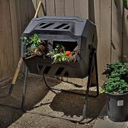 Barton Tumbler Composter Composting Bins Garden Easy Turn System