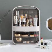 B BAIJIAWEI Dust-Proof Makeup Organizer - Cosmetic Jewelry Storage