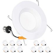 Hykolity 12 Pack 5/6 Inch LED Recessed Downlight Retrofit