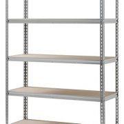 Aluminum Heavy Duty 5-Shelf Shelving Unit