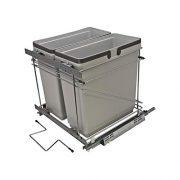 Rok Salice Kitchen Cabinet Soft Close Heavy Duty Frameless Waste Recycle Bin