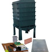 VermiHut 5-Tray Worm Compost Bin iTower-Green