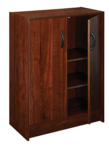 ClosetMaid Stackable 2-Door Organizer, Dark Cherry