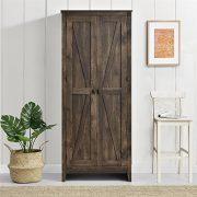 "SystemBuild Farmington 31.5"" Wide Storage Cabinet, Rustic"