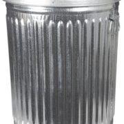 Witt Industries Galvanized Steel 20-Gallon Light Duty Trash Can