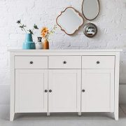 Be Ihouse Sideboard, Storage Cabinet, Rustic Jewelry and Makeup Organizer