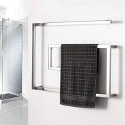 BILLY'S HOME Stainless Steel Towel Warmer, Electric Heated Towel Rack