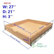 Cabinet Roll Out Trays Wood Pull Out Tray Drawer Boxes Kitchen Cabinet Organizers