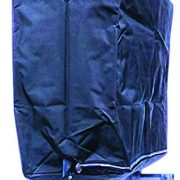TUVAINC Tuva Zippered Garment Clothing Rack Cover, Waterproof Nylon