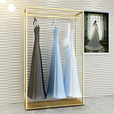 FURVOKIA Heavy Duty Metal Garment Rack,Wedding Dress