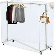 Simple Houseware Industrial Grade Z-Base Garment Rack