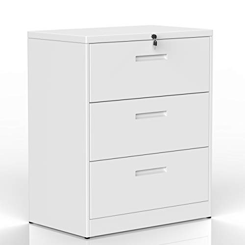 lateral Filing Cabinet 2 Drawer Locking File Cabinet 3 ...