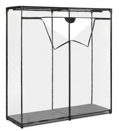Whitmor Extra Wide Clothes Closet - Freestanding Garment Organizer