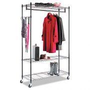 Alera Wire Shelving Garment Rack