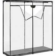 Whitmor Extra Wide Clothes Closet - Freestanding Garment Organizer