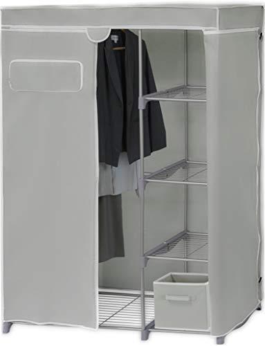 Simple Houseware Freestanding Cloths Garment Organizer Closet