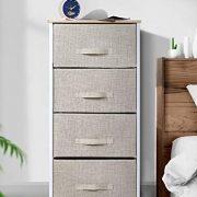 Drawer Dresser Storage Organizer 4-Drawers for Closet