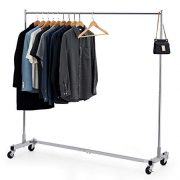 Bextsware Heavy Duty Clothing Rack, Industrial Grade Z-Base Garment Rack
