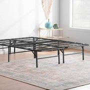 Linenspa 14 Inch Folding Metal Platform Bed Frame - 13 Inches of Clearance