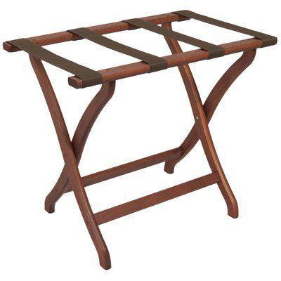 Wooden Mallet Designer Luggage Rack