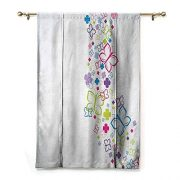 SEMZUXCVO Room Dark Black Insulated Roman Blind Colorful Home Decor