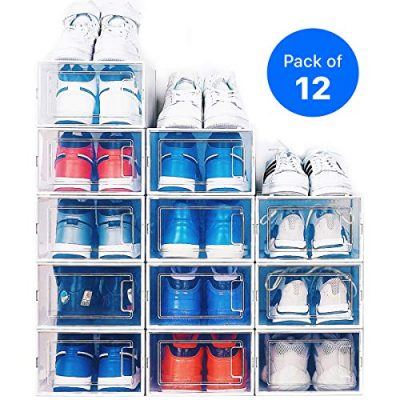 NEATLY Shoe Organizer - Stackable Shoe Racks for closets and entryway Shoe