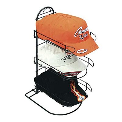 Counter Hat Display with 3 Pockets for Displaying Upto 24 Hats, Caps or Similar Types of Headwear