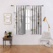 Mannwarehouse Dragonfly Polyester Curtain Vintage Retro Farm Life