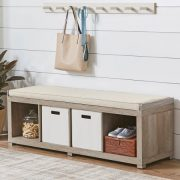 Better Homes and Gardens Cube Organizer Storage Bench