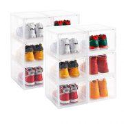AOTENG STAR Storage Shoes Box Womens Mens Shoe Storage Box