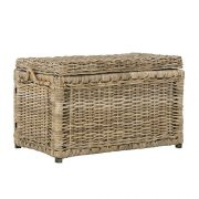 "happimess Jacob 30"" Wicker Storage Trunk, Natural"