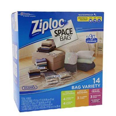 Ziploc Space Bag 14 Bag Variety