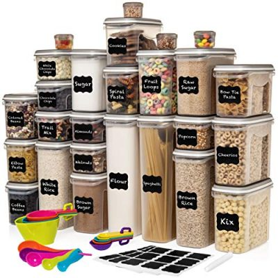 LARGEST Set of 52 Pc Food Storage Containers