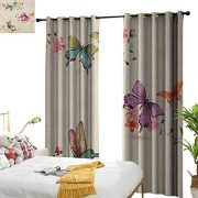 Littletonhome Decor Curtains Butterfly Butterfly Collection