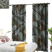 Littletonhome Thermal Curtains Exotic Butterflies Jungle Queen Animal