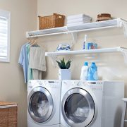 EZ SHELF - Expandable Laundry Room Organizer