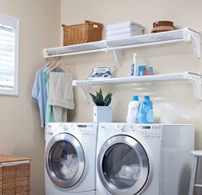 EZ SHELF - Expandable Laundry Room Organizer