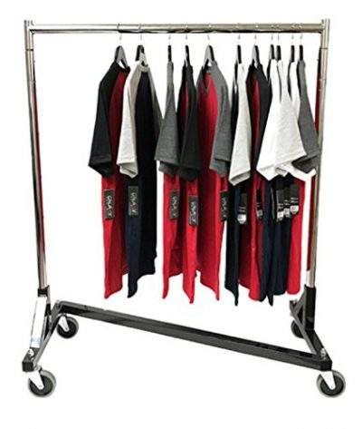 Only Hangers Small Commercial Grade Rolling Z Rack